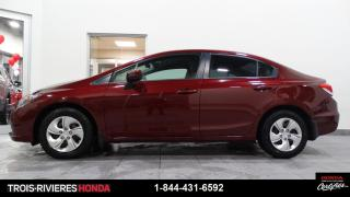 Used 2015 Honda Civic LX + MAN + CAMÉRA RECUL ! for sale in Trois-Rivières, QC