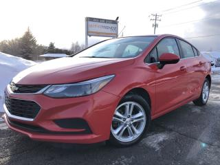 Used 2017 Chevrolet Cruze LT Auto Auto with Heated Seats, BackupCam, AutoStart, Bluetooth, Alloy Wheels and Pwr Windows with Keyless P for sale in Kemptville, ON