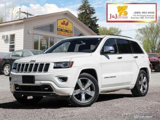 Used 2014 Jeep Grand Cherokee Overland C.Start ,Leather,Suroof for sale in Brandon, MB