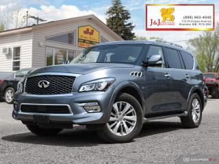 Used 2016 Infiniti QX80 8 Passenger 8Pass.,Fully Loaded,AWD,DVD for sale in Brandon, MB