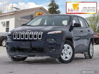 Used 2015 Jeep Cherokee Sport 4WD,C.Start,Auto for sale in Brandon, MB