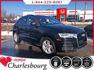 Used 2016 Audi Q3 2.0T KOMFORT QUATTRO **TOIT PANORAMIQUE* for sale in Charlesbourg, QC
