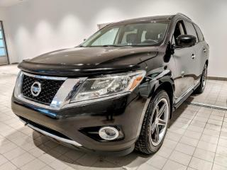 Used 2014 Nissan Pathfinder Platinum for sale in St-Eustache, QC
