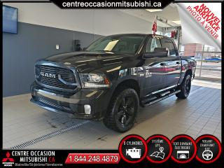 Used 2018 RAM 1500 SPORT 5.7L 4X4 CREW CAB SEMI CUIR + GPS for sale in Blainville, QC