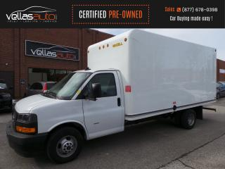 Used 2019 GMC Savana Cutaway 3500| 16FT BOX| RAMP| 6.0L V8 GAS| 12KM for sale in Vaughan, ON