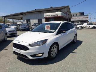 Used 2016 Ford Focus Hayon 5 portes SE for sale in Sherbrooke, QC