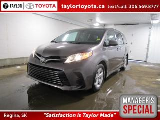 New 2020 Toyota Sienna LE 8-Passenger Save $1500 for sale in Regina, SK