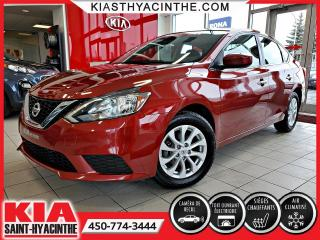 Used 2017 Nissan Sentra SV * TOIT OUVRANT / CAMÉRA DE RECUL for sale in St-Hyacinthe, QC