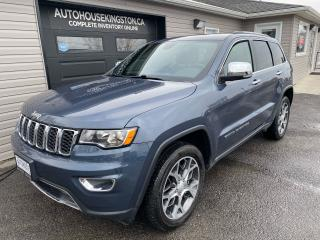 Used 2019 Jeep Grand Cherokee Limited for sale in Kingston, ON