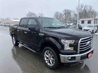 Used 2016 Ford F-150 XLT 4x4 SuperCrew Cab Styleside 145.0 in. WB for sale in Brantford, ON