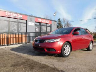 Used 2012 Kia Forte EX|USB/AUX|BLUETOOTH|HEATED SEATS for sale in St. Thomas, ON