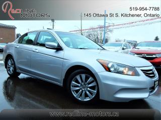 Used 2011 Honda Accord EX-L w/Navigation.Camera.Leather.Roof.SuperClean for sale in Kitchener, ON