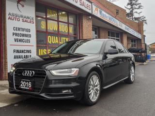 Used 2016 Audi A4 Komfort plus S Line Quattro for sale in Burlington, ON