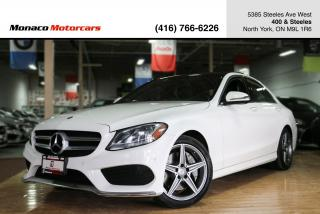 Used 2016 Mercedes-Benz C-Class C300 - AMG|HEADS UP|PANO|BLINDSPOT|NAVI|BACKUP for sale in North York, ON