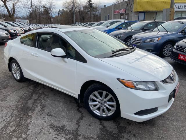 2012 Honda Civic EX/ AUTO/ SUNROOF/ PWR GROUP/ ALLOYS/ LIKE NEW!
