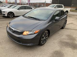 Used 2012 Honda Civic 4dr Auto LX for sale in Brampton, ON