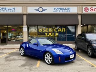 Used 2004 Nissan 350Z Convertible, Only 39K, Manual for sale in Vaughan, ON
