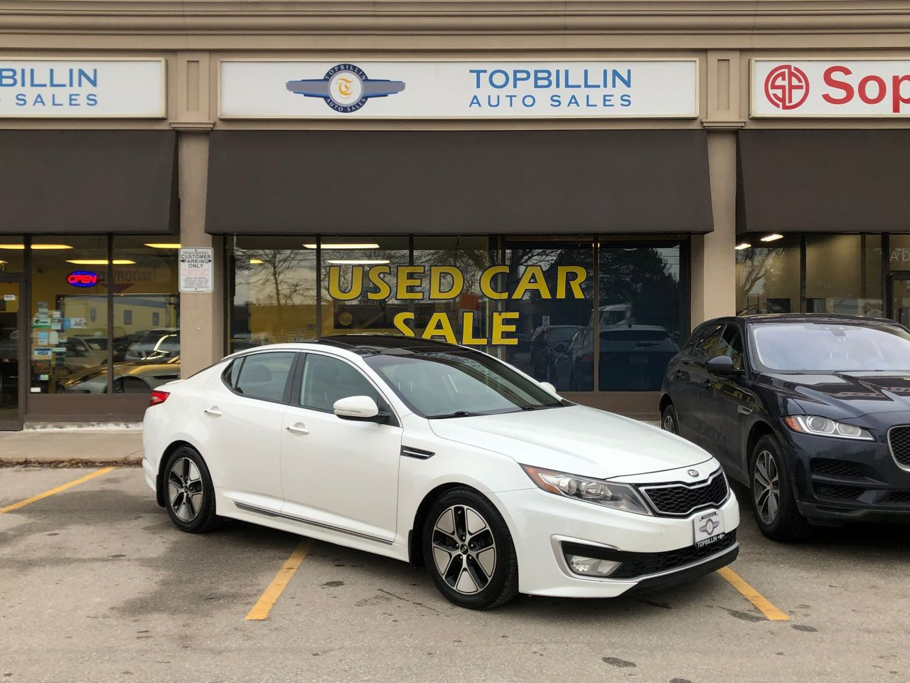 2012 Kia Optima Hybrid Premium, Fully Loaded