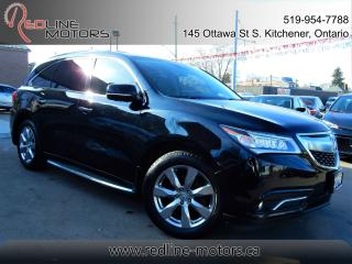 Used 2016 Acura MDX SH-AWD ELITE.Navi.Camera.TV/DVD.HighlyOptioned for sale in Kitchener, ON