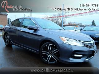 Used 2016 Honda Accord Touring.Navi.Camera.Leather.Roof.Honda Sense Pkg for sale in Kitchener, ON