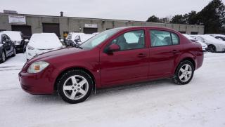 Used 2009 Pontiac Pursuit G5 SE CERTIFIED 2YR WARRANTY *1 OWNER*FREE ACCIDENT*2ND SET OF NEW WINTER TIRES* CRUISE ALLOYS for sale in Milton, ON