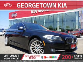 Used 2013 BMW 5 Series 535i xDrive | NAVI | SUNROOF | B/U CAM | HTD WHEEL for sale in Georgetown, ON