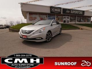 Used 2014 Hyundai Sonata SE  LEATH ROOF HS P/SEAT BT ALLOYS for sale in St. Catharines, ON