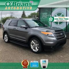 Used 2013 Ford Explorer Limited w/4WD, Navigation, Leather, Thrid-row, heated Seats for sale in Saskatoon, SK