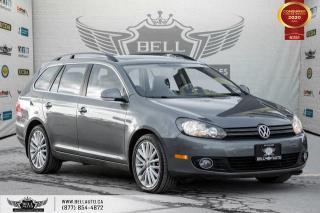Used 2014 Volkswagen Golf Wagon Wolfsburg Edition, NO ACCIDENT, DIESEL, NAVI for sale in Toronto, ON