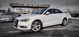 Used 2016 Audi A3 1.8T Premium FWD S tronic |VIDEO.CALL.US ONE OWNER| PANOROOF| LEATHER | REARVIEW| for sale in Mississauga, ON