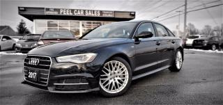 Used 2017 Audi A6 2.0T Premium 8A | VIDEO.CALL.US| CLEAN CARFAX| NAVI | SUNROOF | LEATHER| LOW KILOMETRES| for sale in Mississauga, ON