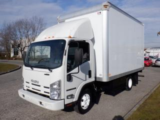 Used 2014 Isuzu NPR 3 passenger Cube Van 14 foot V8 Gas for sale in Burnaby, BC