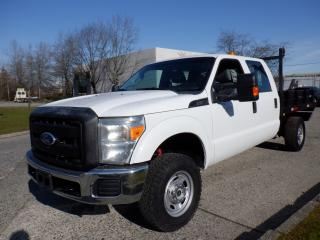 Used 2012 Ford F-350 Flat Deck  8.4 foot Crew Cab 4WD for sale in Burnaby, BC