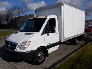 Used 2008 Dodge Sprinter 3500 Cube Van 14 foot Diesel for sale in Burnaby, BC