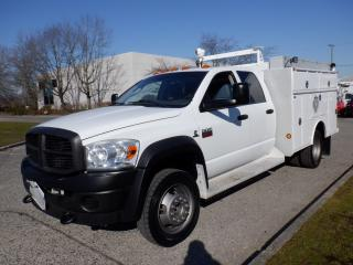 Used 2009 Dodge Ram 5500 Diesel Service Truck 4x4 for sale in Burnaby, BC