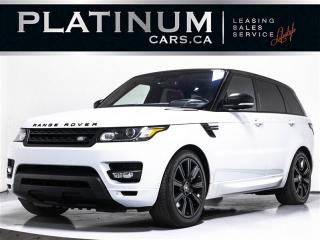 Used 2016 Land Rover Range Rover Sport SUPERCHARGED 510HP, V8, NAV, MERIDIAN SOUND, CAM for sale in Toronto, ON