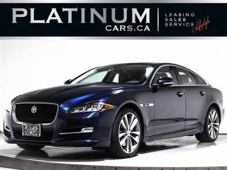 Used 2016 Jaguar XJ R-Sport, AWD, NAV, CAM, SUNROOF, BLINDSPOT, HEATED for sale in Toronto, ON