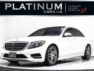 Used 2015 Mercedes-Benz S-Class S 550 4MATIC, NAV, SUNROOF, 360 CAM, MASSAGE SEATS for sale in Toronto, ON