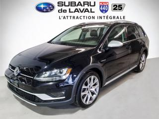 Used 2017 Volkswagen Golf Alltrack EXECLINE for sale in Laval, QC