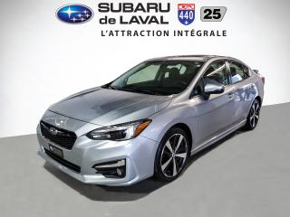 Used 2017 Subaru Impreza Sport-tech *Cuir,Toit,Nav* for sale in Laval, QC
