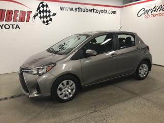Used 2015 Toyota Yaris Auto LE, AIR, BLUETOOTH for sale in St-Hubert, QC
