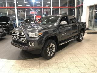 Used 2019 Toyota Tacoma 4X4 Double CAB V6 Auto Limited for sale in St-Hubert, QC