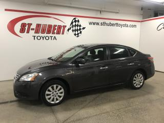 Used 2015 Nissan Sentra 4DR SDN CVT S for sale in St-Hubert, QC