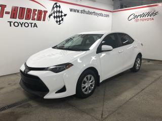 Used 2018 Toyota Corolla CE CVT, CLIMATISEUR for sale in St-Hubert, QC