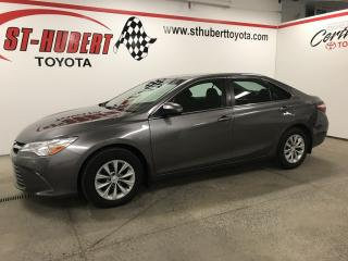 Used 2017 Toyota Camry Auto LE for sale in St-Hubert, QC