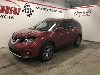 Used 2016 Nissan Rogue AWD, SL, TOIT PANO, NAVIGATION for sale in St-Hubert, QC