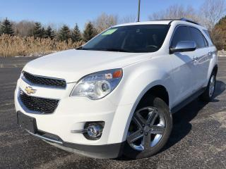Used 2014 Chevrolet Equinox LTZ AWD for sale in Cayuga, ON