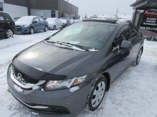 Used 2013 Honda Civic 4dr Man EX, TOIT OUVRANT for sale in Beauport, QC