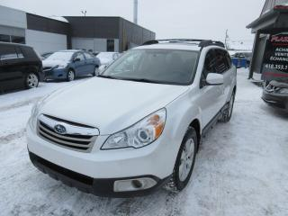 Used 2010 Subaru Outback 5dr Wgn Auto 3.6R w-Limited Pkg for sale in Beauport, QC