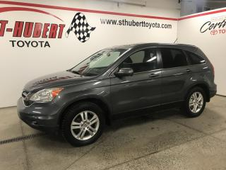 Used 2011 Honda CR-V 4WD, EX-L w-Navigation for sale in St-Hubert, QC